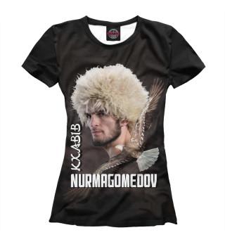 Футболка женская Хабиб Нурмагомедов (254)