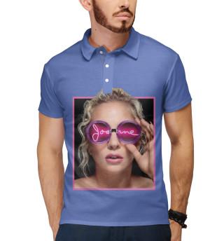 Поло мужское Lady Gaga (4358)