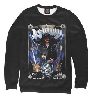 Одежда с принтом Lemmy