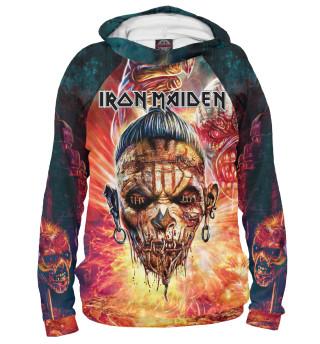 Худи женское Iron Maiden (9184)