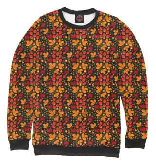 Одежда с принтом Хохлома (ягоды) (628274)