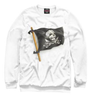 Одежда с принтом Пиратский флаг