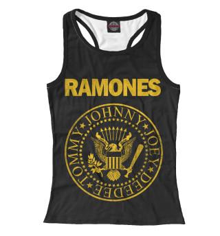Майка борцовка женская Ramones Gold