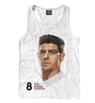 Майка борцовка мужская FC Liverpool Steven Gerrard (9333)