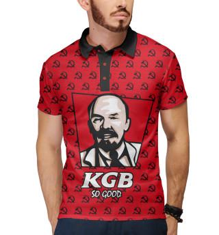 Поло мужское KGB So Good