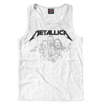 Майка борцовка мужская Metallica (8040)