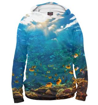 Худи женское Коралловый риф