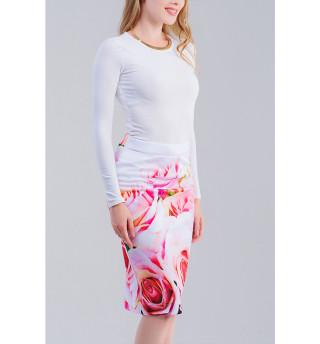 Одежда с принтом Розы (294340)