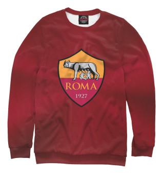 Одежда с принтом FC Roma Red Abstract
