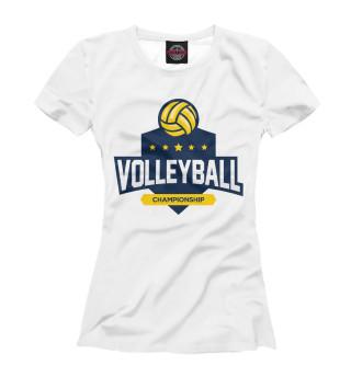 Футболка женская Волейбол (5222)