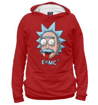 Худи мужское E=mc^2