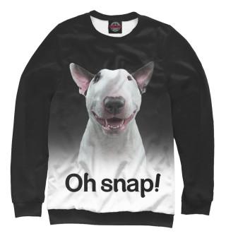 Одежда с принтом Oh snap!