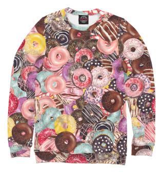 Одежда с принтом Пончики