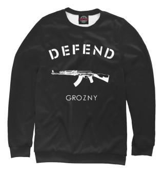 Одежда с принтом Defend Grozny