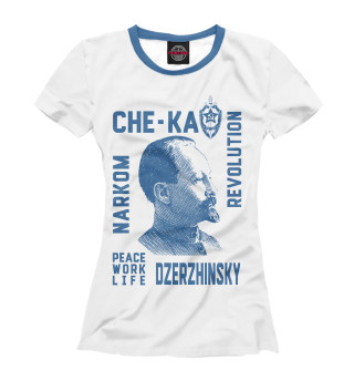 Футболка женская Феликс Дзержинский