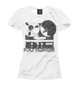 Футболка женская Foo Fighters (3313)
