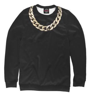 Одежда с принтом Золотая цепь (829313)