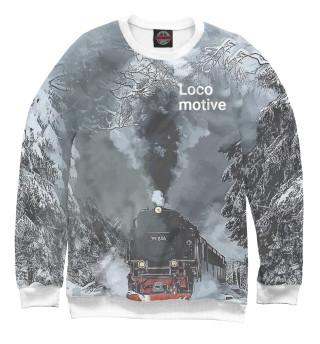 Одежда с принтом Locomotive