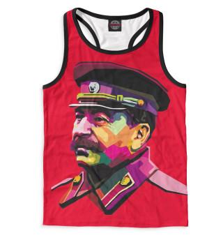 Майка борцовка мужская Сталин (1990)