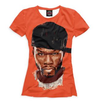 Футболка женская 50 Cent (5539)
