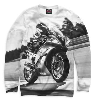 Одежда с принтом Мотоциклист