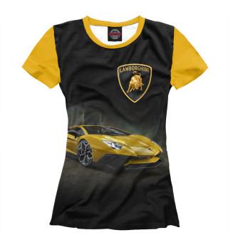 Футболка женская Lamborghini
