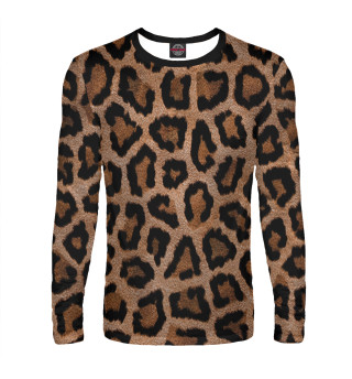 Лонгслив  мужской Леопард