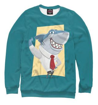 Одежда с принтом Деловая акула