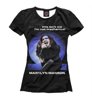 Футболка женская Marilyn Manson