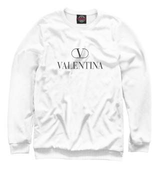 Одежда с принтом Валентина