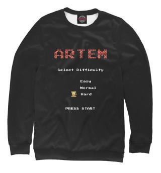 Одежда с принтом Battle city Артем