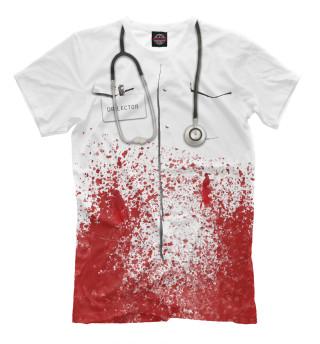 Футболка мужская bloody doctor