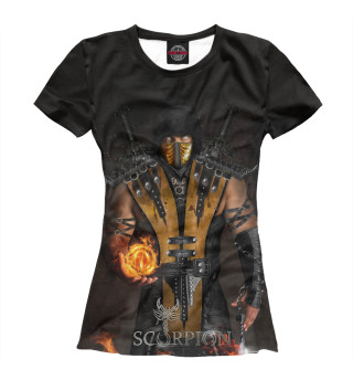 Футболка женская Scorpion (5549)