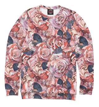 Одежда с принтом Красные розы (926490)