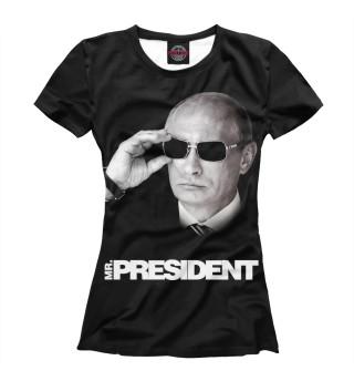 Футболка женская Путин