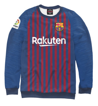 Одежда с принтом Барселона форма новая домашняя 2019