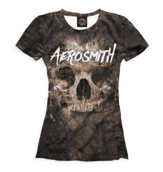 Футболка женская Aerosmith (7529)