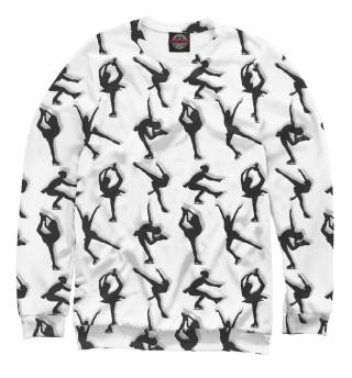 Одежда с принтом Стильные фигуристки - спортивные танцы