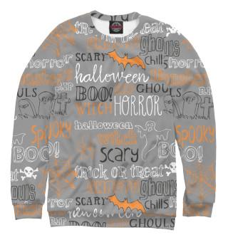 Одежда с принтом Halloween