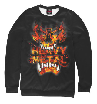 Одежда с принтом Heavy Metal