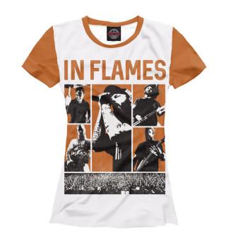 Футболка женская In Flames (182)
