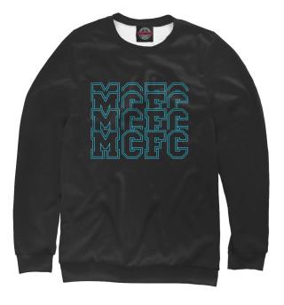 Одежда с принтом MCFC