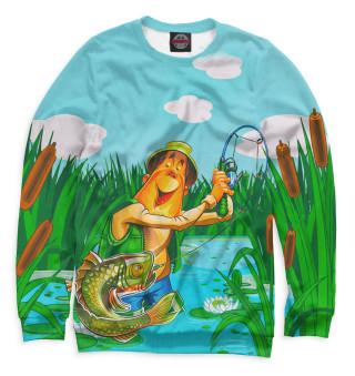 Одежда с принтом Рыбалка (707806)