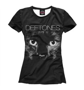 Футболка женская Deftones (2435)