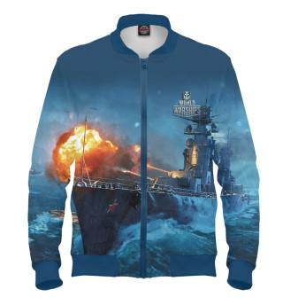 Бомбер мужский World of Warships (9109)