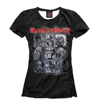 Футболка женская Iron Maiden (6769)