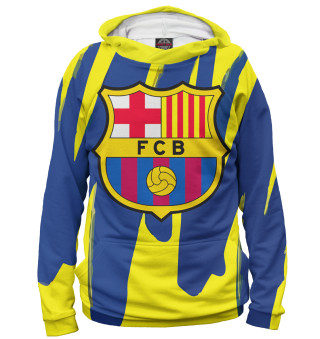 Худи женское Герб FC Barcelona