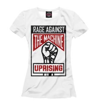 Футболка женская Rage Against the Machine (681)