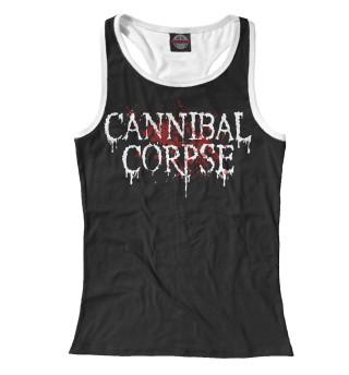 Майка борцовка женская Cannibal Corpse (6032)