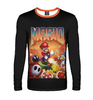 Лонгслив  мужской Mario Doom
